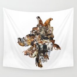 Legion of Canines Wall Tapestry