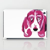 the hound iPad Cases featuring Hound Dog by andiroses