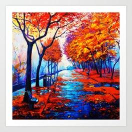 Tardis Art Tree Blossom Art Print