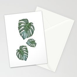 Monstera The Tree Stationery Cards