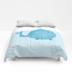 The Enigmatic Pudding Whale Comforters