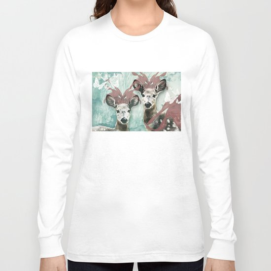 majestic fawn Long Sleeve T-shirt