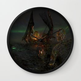 Illis and the Tarman - The Summoning Wall Clock