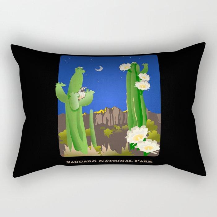 Saguaro National Park Rectangular Pillow