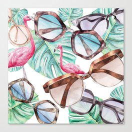 TROPICAL SUMMER Canvas Print