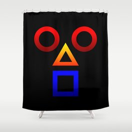 BAUH F Shower Curtain