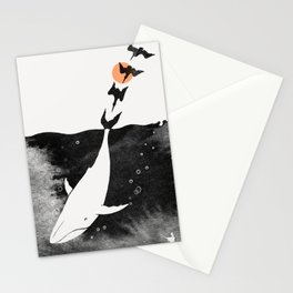 Dive into Happiness Stationery Cards