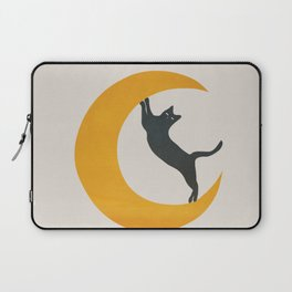 Moon and Cat Laptop Sleeve