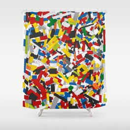 The Lego Movie Shower Curtain