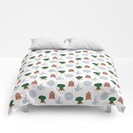 Iconic Theme Parks Comforters