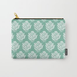 The Bloom of Okra Carry-All Pouch