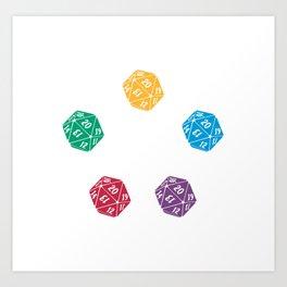 Mana Spin-downs Art Print