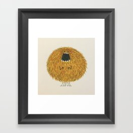 Poofy Wan Framed Art Print