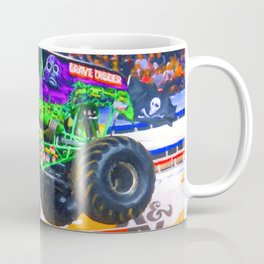 Monster Jam Grave Digger Coffee Mug