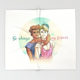 Be Always My Forever Throw Blanket