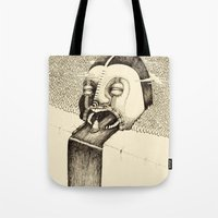 fall Tote Bags featuring 'Fall' by Alex G Griffiths