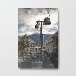 Heavenly Lift Metal Print
