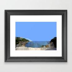 Gordons Bay 2013 Framed Art Print