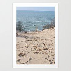 On to the Horizon Art Print