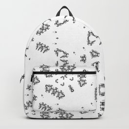 White and little black Backpack