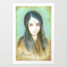 Princess Amelia - The lady in the photo Art Print