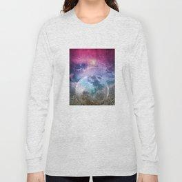 MOON under MAGIC SKY I Long Sleeve T-shirt