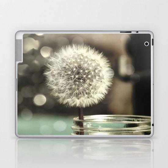 Dandelion in a Jar Laptop & iPad Skin