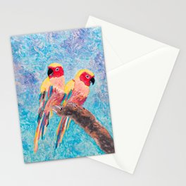 Birds of Colour Stationery Cards