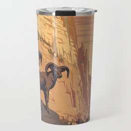 Zion National Park Dawn Travel Mug