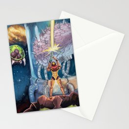 Super Metroid Fan Art Stationery Cards