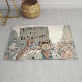 White Coats for Black Lives Rug