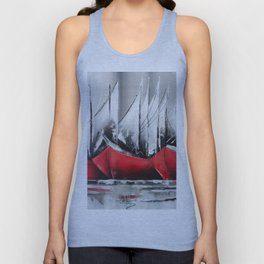 Boats Alingned Unisex Tank Top
