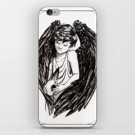Bird Child iPhone Skin