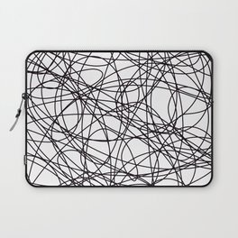 Abstract Art Scribbles Laptop Sleeve