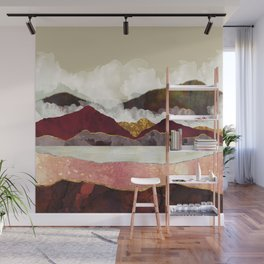 Melon Mountains Wall Mural