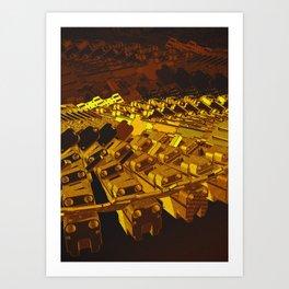 Mechanical 19 Art Print