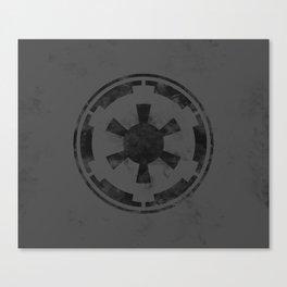 SW Republic Black Flag Canvas Print