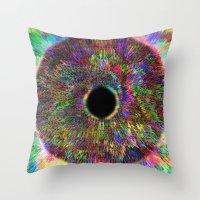 iris Throw Pillows featuring Iris by J.Lauren