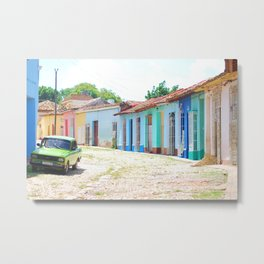 40. Most colorful street, Cuba Metal Print