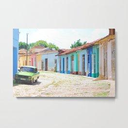 40. Most colorful street, Cuba Metal Print