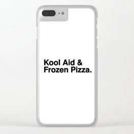 KOOL AID & FROZEN PIZZA Clear iPhone Case