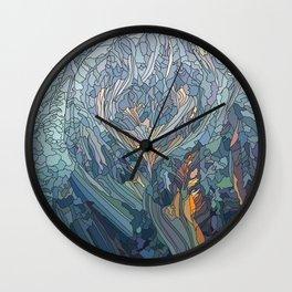 Frost fire Wall Clock