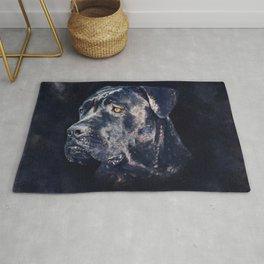 Cane Corso - Italian Mastiff Portrait Rug