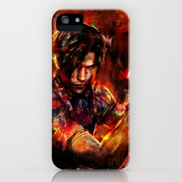 leon kennedy iPhone Case