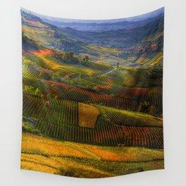 Tuscany, italian wineyards Wall Tapestry