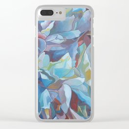 """""""Calm the Weary"""" Clear iPhone Case"""