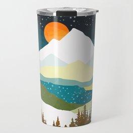 Winters Night Travel Mug
