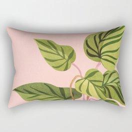 Upstart / Tropical Plant Rectangular Pillow