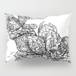 Garden of Danger Pillow Sham