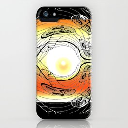 Anatman - Digital Variant iPhone Case